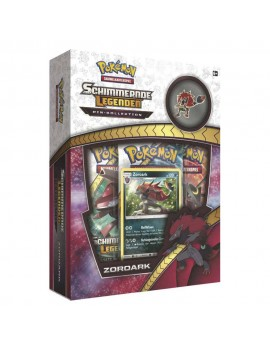 Pokemon Shining Legends Pin Box Zoroark *German Version*