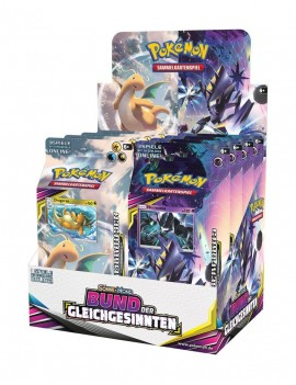 Pokémon Sun and Moon 11 Unified Minds Theme Deck Display (8) *German Version*
