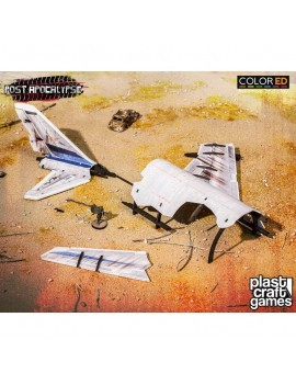 Post Apocalypse ColorED Miniature Gaming Model Kit 28 mm Fuselage Wreckage