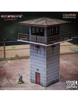 Post Apocalypse ColorED Miniature Gaming Model Kit 28 mm The Watchtower