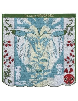 Princess Mononoke Mini Towel Kodama 25 x 25 cm