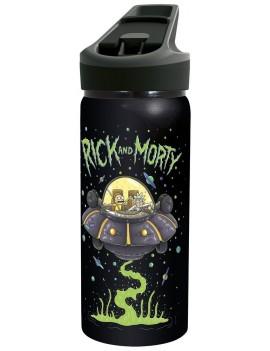 Rick & Morty Premium Drink Bottle Logo