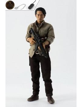 The Walking Dead Action Figure 1/6 Glenn Rhee Deluxe Version 29 cm