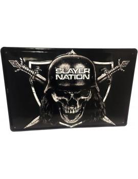 Slayer Tin Sign Slayer Nation 20 x 30 cm