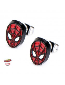 Spider-Man Earrings Face