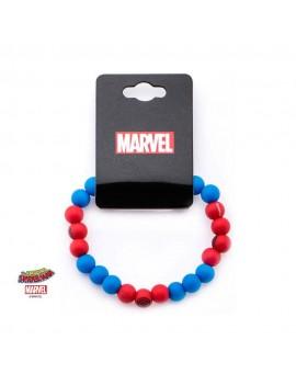 Spider-Man Silicone Beads Bracelet Logo