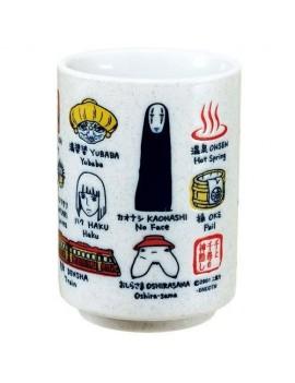 Spirited Away Japanese Tea Cup Characters