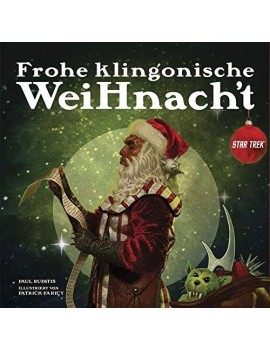 Star Trek Book Frohe klingonische Weihnacht *German Version*