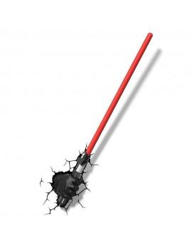 Star Wars 3D LED Light Darth Vader Hand with Lightsaber