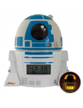 Star Wars BulbBotz Alarm Clock with Light R2-D2 14 cm
