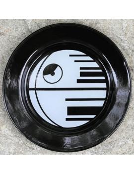 Star Wars Enamel Plate Death Star