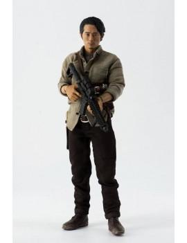 The Walking Dead Action Figure 1/6 Glenn Rhee 29 cm