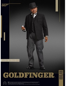 James Bond Goldfinger Collector Figure Series Action Figure 1/6 Oddjob 30 cm