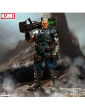 Marvel Universe Light-Up Action Figure 1/12 Cable 17 cm