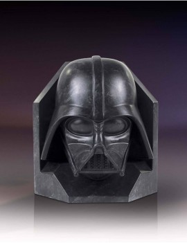 Star Wars Stonework Faux Marble Bookend Darth Vader 26 cm