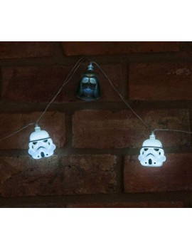 Star Wars String Lights 3D Darth Vader & Stormtrooper