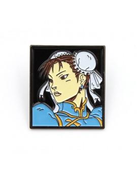 Street Fighter Pin Badge Chun-Li