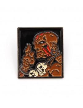 Street Fighter Pin Badge Dhalsim