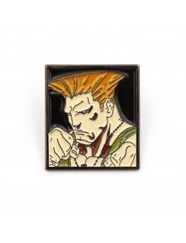 Street Fighter Pin Badge Guile