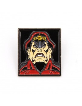 Street Fighter Pin Badge M. Bison