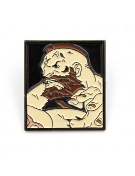 Street Fighter Pin Badge Zangief