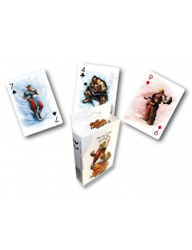 Street Fighter Playing Cards Characters