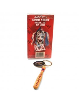Suicide Squad Harley Quinn's Good Night Bat Keychain