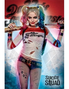 Suicide Squad Poster Pack Daddy's Lil Monster 61 x 91 cm (5)