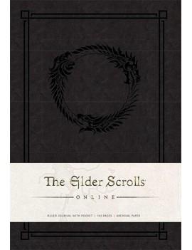 The Elder Scrolls Online Hardcover Ruled Journal Logo