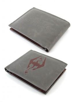 The Elder Scrolls V Skyrim Wallet Tri-Fold Dragonborn