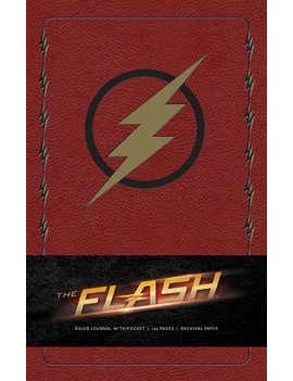 The Flash Hardcover Ruled Journal Logo