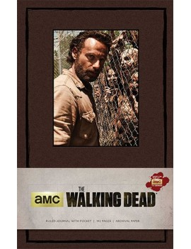 The Walking Dead Hardcover Ruled Journal Rick Grimes