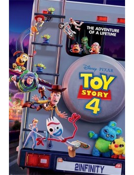 Toy Story 4 Poster Pack Adventure Of A Lifetime 61 x 91 cm (5)
