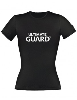Ultimate Guard Ladies T-Shirt Wordmark Black