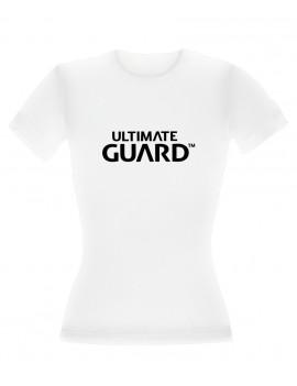 Ultimate Guard Ladies T-Shirt Wordmark White