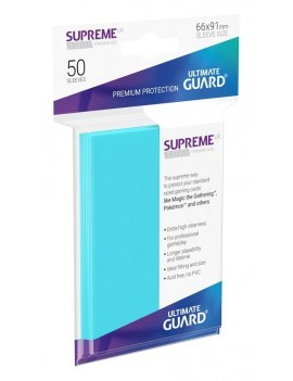 Ultimate Guard Supreme UX Sleeves Standard Size Aquamarine (50)