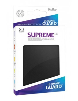 Ultimate Guard Supreme UX Sleeves Standard Size Black (80)