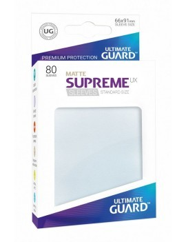 Ultimate Guard Supreme UX Sleeves Standard Size Matte Frosted (80)
