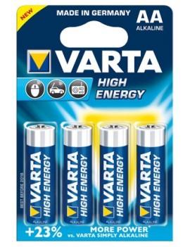 Varta High Energy Battery 2-Pack AA