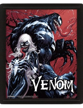 Venom Framed 3D Lenticular Poster Pack Teeth and Claws 26 x 20 cm (3)