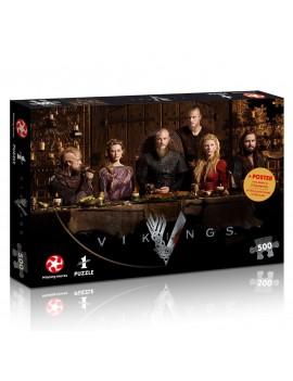 Vikings Jigsaw Puzzle Ragnar's Court