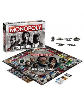 Walking Dead (AMC) Board Game Monopoly *French Version*