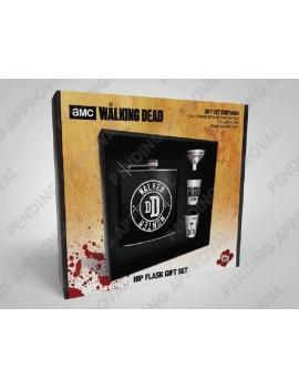 Walking Dead Hip Flask Set Walker Hunter