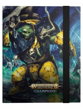 Warhammer Age of Sigmar: Champions 18-Pocket FlexXfolio Destruction vs. Death