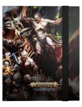 Warhammer Age of Sigmar: Champions 18-Pocket FlexXfolio Order vs. Death