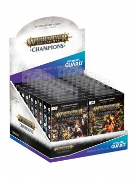 Warhammer Age of Sigmar: Champions Artwork Sleeves Standard Size 40-Pack Display (18)