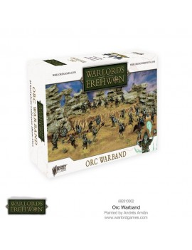 Warlords of Erehwon Miniatures Game Expansion Set Orc Warband *English Version*