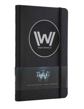 Westworld Hardcover Ruled Journal Logo