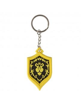 World of Warcraft Rubber Keychain Alliance Pride 4 cm