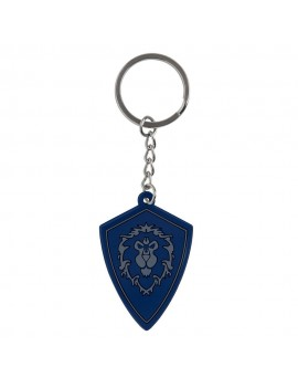 World of Warcraft Rubber Keychain Battle for Azeroth Alliance 4 cm